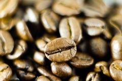 Macro shot of coffee beans Royalty Free Stock Photos