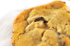 Macro shot of delicious cookie Stock Photos