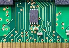 Macro shot of electronic board Royalty Free Stock Image