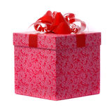 Macro shot of gift Royalty Free Stock Photo