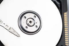 Macro shot of hard drive Royalty Free Stock Photo