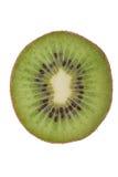 Macro shot of a kiwi isolated on white Royalty Free Stock Image