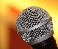 Macro Shot of Microphone Royalty Free Stock Photos