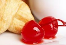 Free Macro Shot Of Glaze Cherries Stock Photo - 5508460