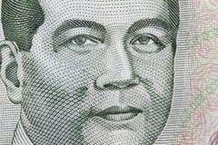 Macro shot of Philippines peso Royalty Free Stock Image