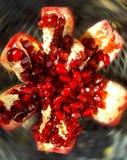 Macro Shot Pomegranate Stock Images