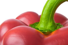 Macro shot of red pepper Royalty Free Stock Image