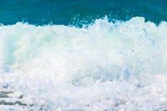 Macro shot of splashing water Royalty Free Stock Photo
