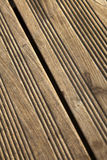 Wooden Deck Macro Royalty Free Stock Photo