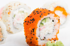 Macro shot of sushi Stock Photo