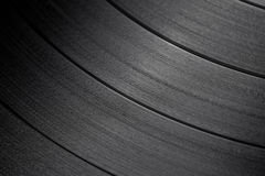 Macro shot of vinyl record Stock Photography