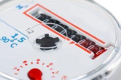 Macro shot of a water meter Royalty Free Stock Image