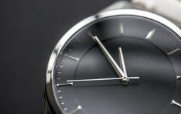 Macro shot of wrist watch Stock Photos