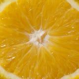 Macro sinaasappel Royalty-vrije Stock Afbeelding