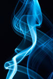 Macro of smoke lines Stock Photography
