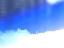 Macro snow background stock photos