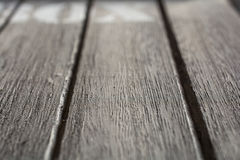 Macro Of Some Wood Panels With BOX Logo In The Background Royalty Free Stock Images
