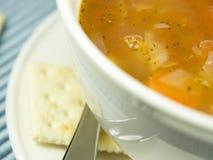 Macro soup Stock Photos