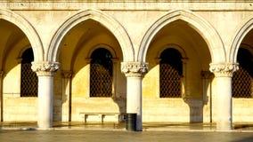 Macro spazio aperto delle finestre e degli ornamenti di San immagini stock libere da diritti