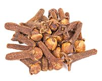 Macro spice cloves buds Stock Images