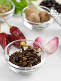 Macro spices Stock Photo