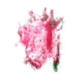 Macro spot blotch green, crimson, burgundy texture Stock Image