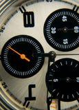 Macro of stop watch. Detail Royalty Free Stock Photos