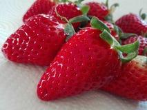 Macro Strawberry Royalty Free Stock Photography