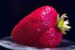 Macro of Strawberry Royalty Free Stock Images