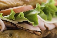 Macro submarine sandwich Royalty Free Stock Photo