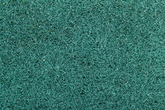 Macro  surface of blue Scotch Brite Stock Photography