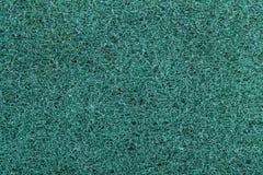 Macro surface of blue Scotch Brite. Background and surface of blue Scotch Brite stock photography