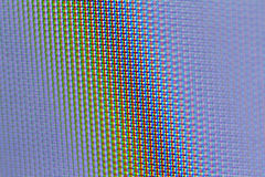 Macro television screen texture. Original macro photo, television screen stock images