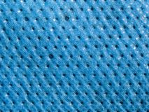 Macro texture - blue tarp Royalty Free Stock Photography
