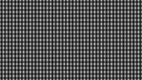 Macro texture menée de vecteur d'écran Modèle sans couture d'écran de diode de RVB illustration stock