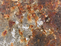 Macro texture - metal - rusty peeling paint Stock Photo