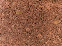Macro texture - red brick. Stock macro photo of the texture of red brick.  Useful as a layer mask or background Stock Photography