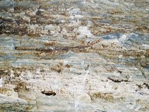Macro texture - stone - discolored Stock Image