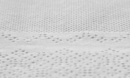 macro texture of white paper napkin Royalty Free Stock Photos