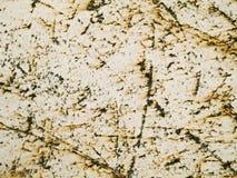 Macro textuur - gekrast en roestig metaal - stock fotografie