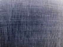 Macro textuur - gekrast metaal - stock foto