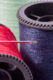 Macro of Thread Stock Photography