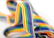 macro tir de fil électronique multiple Twisted image libre de droits