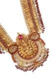 Macro tir des bijoux d'or Photographie stock