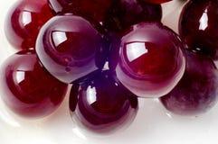 Macro tir des raisins red delicious Photos libres de droits