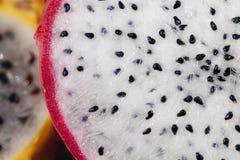 Macro Of Tropical Fruit Stock Photography