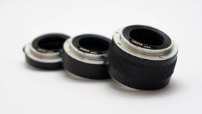 Macro tubes d'extension Photos stock
