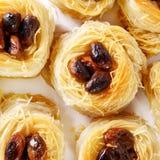 Macro turca de la mezcla de los dulces foto de archivo libre de regalías