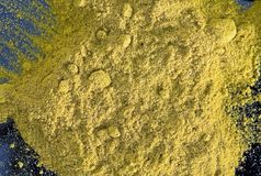 Macro Turmeric Royalty Free Stock Photography