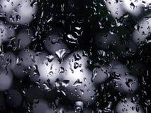 Macro - umidità nel fuoco fotografie stock libere da diritti